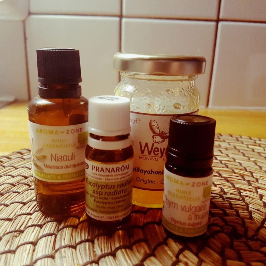 Miellat d'Hiver aux huiles essentielles
