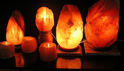 Lampe à cristal de sel ?