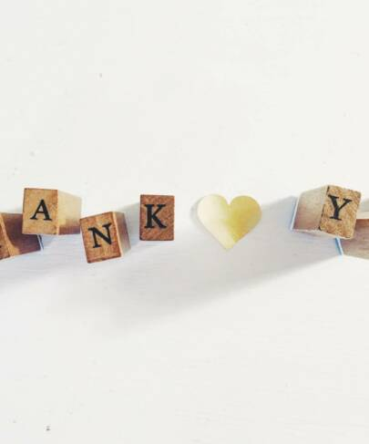 Mon «Merci» de thérapeute Shiatsu